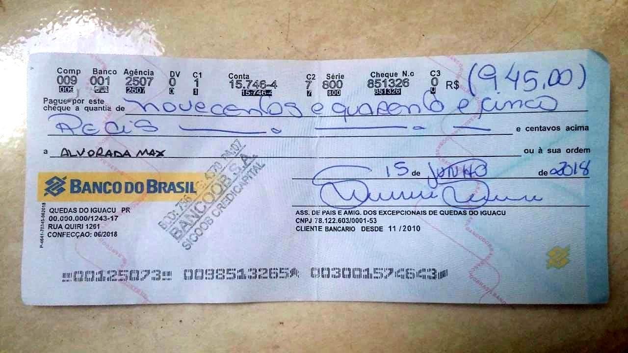 Após Registros De Notas Falsas Agora Também Cheques Clonados
